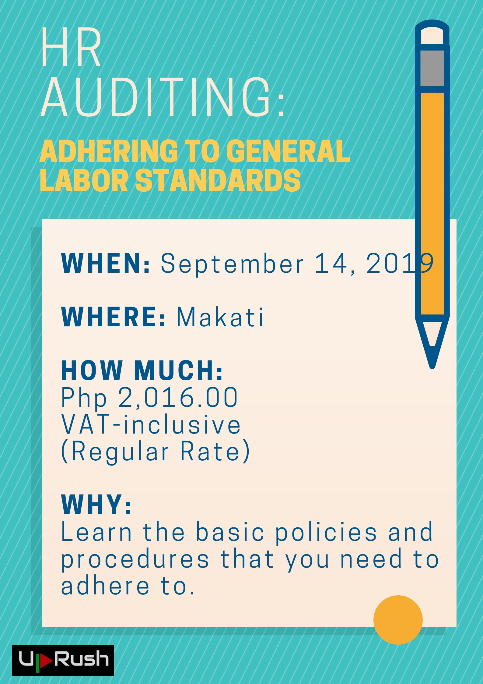 HR Auditing - Adhering to General Labor Standards