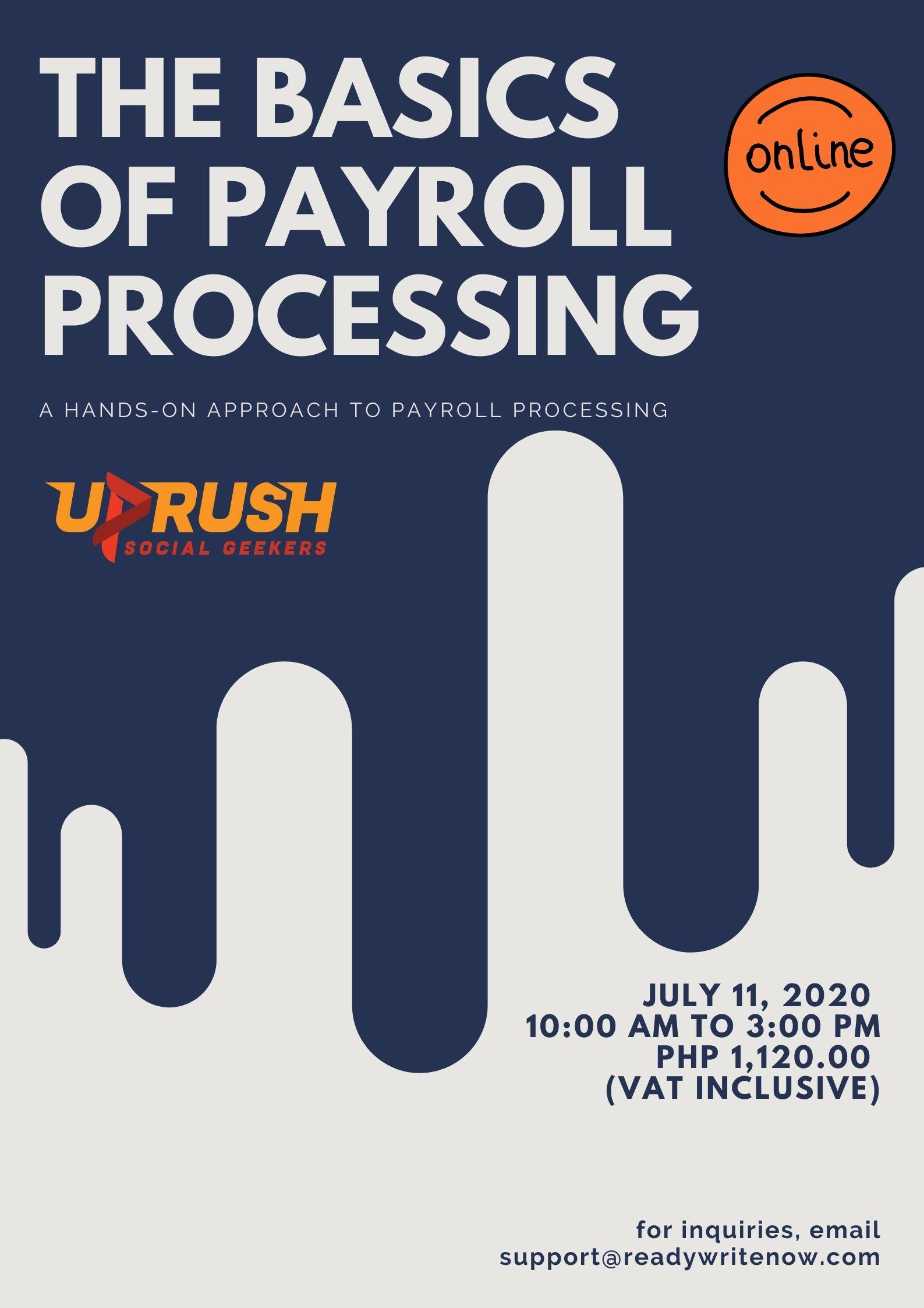 Basics of Payroll Processing